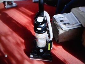 black 2000 w vax hoover in good working order can see it working