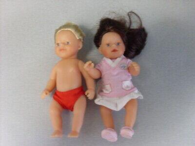 ZAPF CREATIONS BABY BORN 5 in MINI DOLLS QTY 2 tweedehands  verschepen naar Netherlands