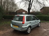 FORD FUSION 2 1.6 PETROL 5 DOOR 53 REG 12 MONTHS MOT NEW CLUTCH TIMING BELT REPLACED 40+ MPG