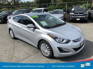 2014 Hyundai Elantra GL Heated seats, Bluetooth.