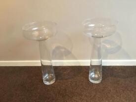Large glass vases wedding home decoration
