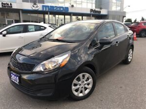 2015 Kia Rio LX+, ONE OWNER, GREAT VALUE