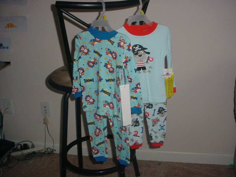 SIZE 18 MONTH 2 PIECE PAJAMAS  LOT  NEW