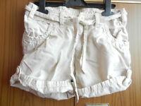 H&M Girl's Shorts Beige
