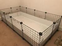 C&C Large Guinea Pig Cage + Accessories