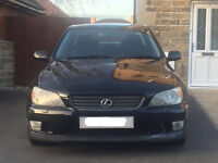 Lexus IS200 SE Auto 2.0 Petrol (Aero Pack)
