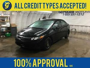 2012 Honda Civic LX*BLUETOOTH HANDSFREE*POWER WINDOWS*ECO MODE*