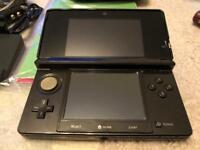 Black 3ds Console