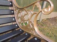 Gerden Bench - Regal - Fully Refurbished - Patio Furniture