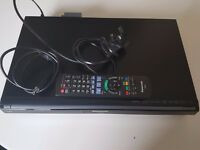 Panasonic DVD player/recorder with Freeview