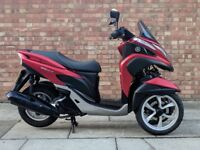 Yamaha Tricity 125cc (15 REG), Good condition, One owner, low mileage
