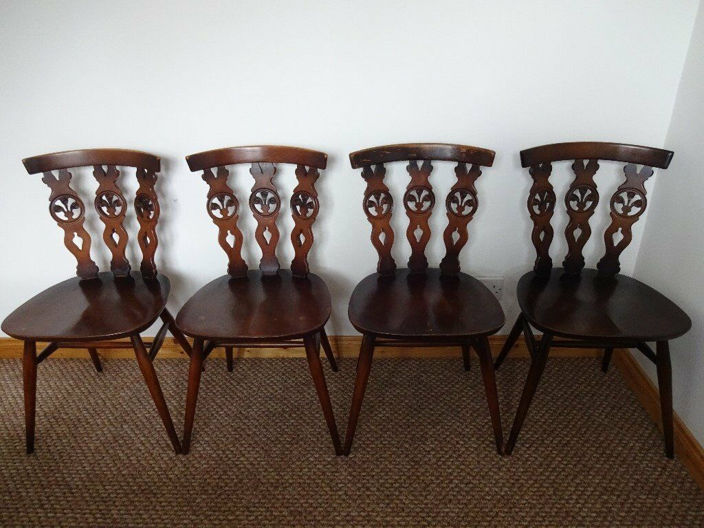 Ercol Dining Chairs for sale