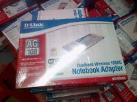 50x D-Link DWL-AG660 Air Premier Dual Band Wireless notebook adaptors