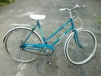 Ladies Raleigh Campus Vintage Town Bicycle For Sale in Good Working Order
