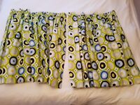 Fully lined & interlined pinch pleat curtains - kids/teenage boys bedroom