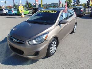 2014 Hyundai Accent GL, Manuelle, Bluetooth, bancs chauffants!!