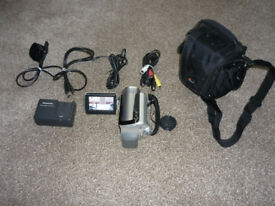 Panasonic HDD Camcorder SDRH20 and Accessories