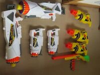 Collection of Buzz Bee Nerf Style Dart Guns