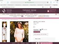 Matenity wedding dress tifanny rose abigail