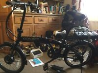 Coyote Connect Folding Electric bike (hardly used, bought from Halfords in Sittingbourne in 2017)