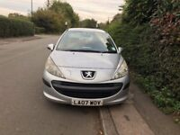 Peugeot 207 SILVER 1,4 3 DOOR 2007 £750 NO OFFERS OR TIME WASTERS PLEASE