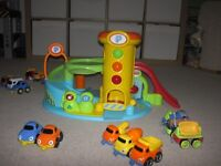 Early Learning Centre Garage and Vehicles