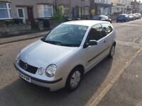 2004 VW POLO 1.2 LTR PETROL 3DRS HBACK £598 NO PX NO LAST PRICE FULL MOT 9/19 CALL 02475119499