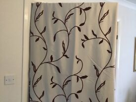 Eyelet curtains for sale - 2 pairs
