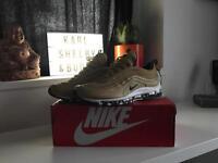 Nike Air max 97 gold bullet 10.5