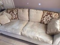 ( FREE Dfs sofa from smoke free home need gone A.S.A.P as new sofa arrive a day early