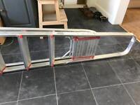 Platform step ladder - 8 step