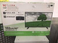 40'' TOSHIBA LED TV.MODEL 40L1653DB.FREEVIEW HD 1080P.
