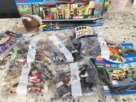 Lego 60050 - unopened packets - totally complete