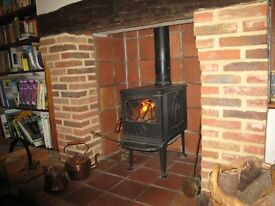 Waterford 5KW wood burning stove