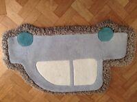 Car shaped rug