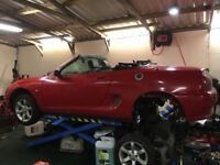 MG F needs CVT gearbox