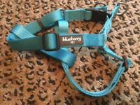 Blueberry step in dog harness. Size 42-56cm