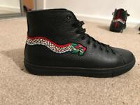 Gucci high tops size 10