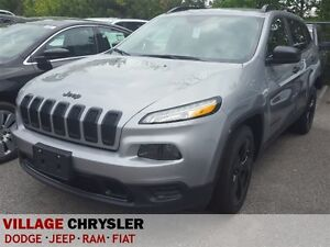 2016 Jeep Cherokee FWD SPORT, Cold Weather Group, Back Up Camera