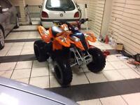 Polaris predator 90 cc quad atv bargain clean 2 stroke automatic