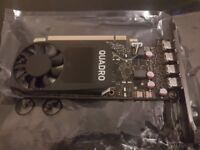 PNY Nvidia Quadro P1000 Graphics Card - 4GB (Brand New)