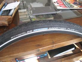 New schwalbe marathon plus tyre