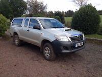 Toyota Hilux 2.5 active extra cab (No VAT)