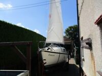 westerly nimrod 18ft trailer sailer