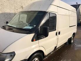 TRANSIT VAN 2004 FORD TRANSIT T350 LWB HIGH ROOF