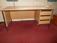 Locking Desk and Table