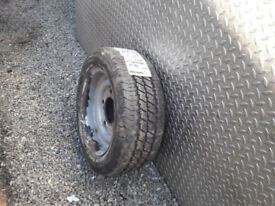 Ifor Williams Wheel and Tyre