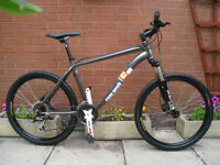 CLAUD BUTLER cape wrath 2 , lockout fork / hydraulic disc brakes