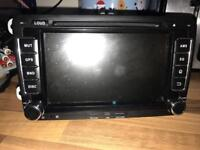 Double din dvd/cd/aux/nav/WiFi/touchscreen etc direct fit mk5 golf plug and play all cars