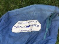 under cover for 420 sailing dinghy